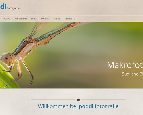 poddi fotografie - Website